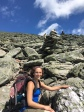 Heading up Mount Washington, White Mountains, NH.