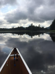peaceful waters on Little Tupper